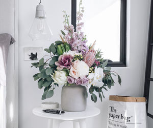 flowers, home, and bouquet image