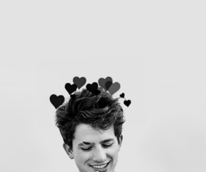 charlie puth, black and white, and charlie image
