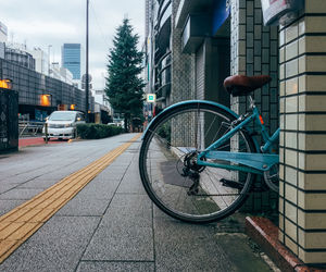 bycicle, cities, and cityscape image