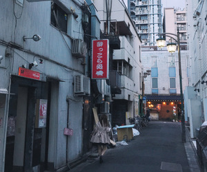 asia, japan, and street image