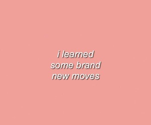 hey violet, brand new moves, and from the outside image