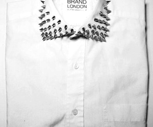 shirt, white, and studs image