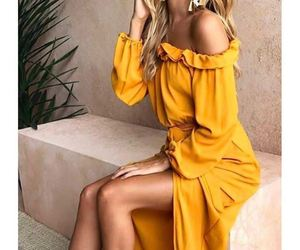 fashion and yellow image
