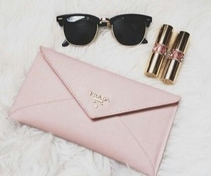 bag, sunglass, and chique image