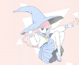 witch, anime, and kawaii image