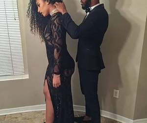 beauty, black, and goals image