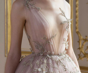 Couture, pink, and dress image