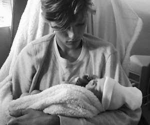baby, lucky blue smith, and stormi bree image