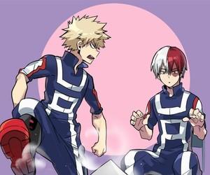 boku no hero academia, my hero academia, and bakugo katsuki image