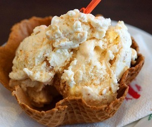 food, foodie, and ice cream image