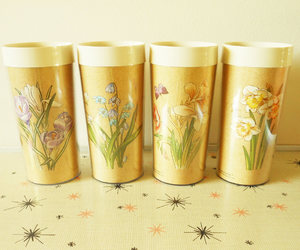 etsy, retro tumblers, and insulated tumblers image