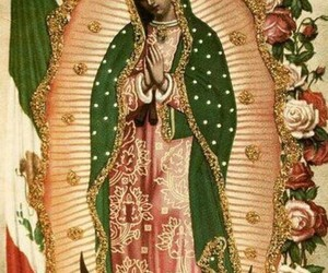 mexico and virgen de guadalupe image