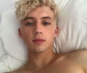 blonde and troye image