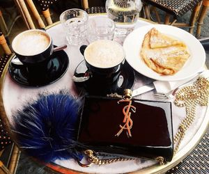 coffee, vogue, and YSL image