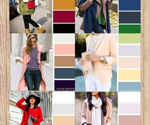 autumn, clothes, and color image