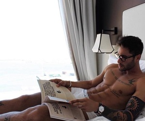 abs, beautiful, and books image