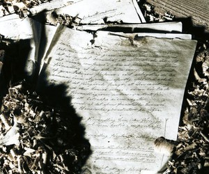 fire, old, and letters image