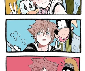 kingdom hearts and video game image
