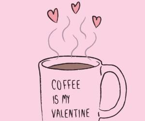 coffee, valentine, and overlay image