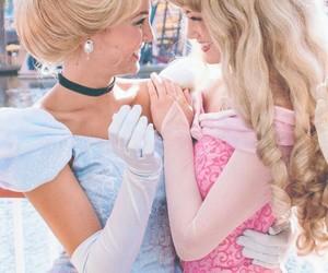 princess, disney, and cinderella image
