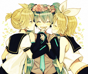 vocaloid, anime, and happy image