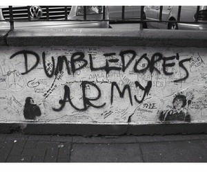 albus dumbledore, army, and grunge image