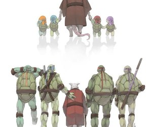 family, ninja turtles, and tmnt image