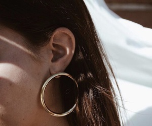 accessories, earrings, and hair image