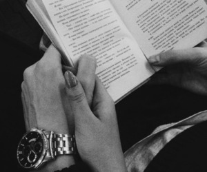 couple, book, and love image