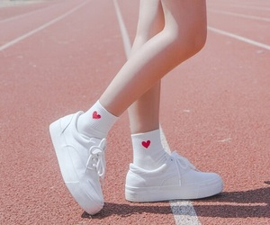 heart, shoes, and socks image