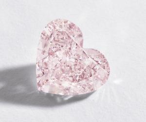diamond, jewelry, and pink image