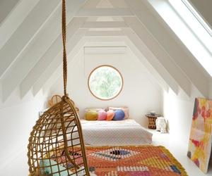 home decor and attic room image