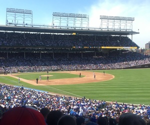 baseball, cubs, and chicago image