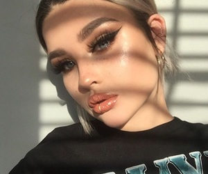beauty, highlight, and lips image