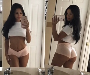 beauty, selfie, and booty image