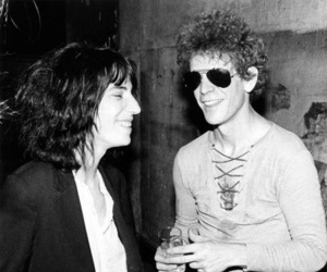 lou reed and Patti Smith image