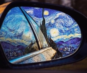 van gogh, art, and starry night image