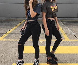aesthetic, converse, and girls image