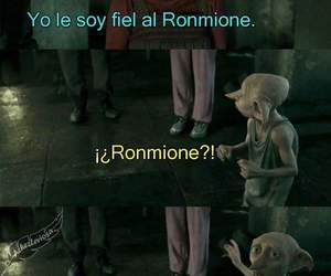 luna, dobby, and romione image