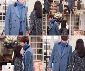lee min ho, park shin hye, and kim tan image