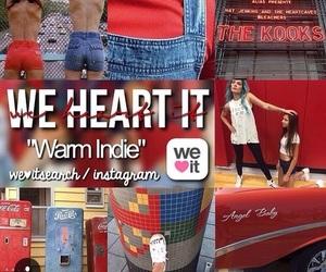 indie, warm, and warm indie image
