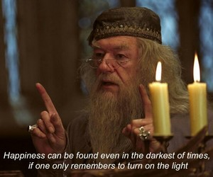 albus dumbledore, harry potter, and hp image