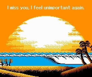 i miss you, you, and unimportant image