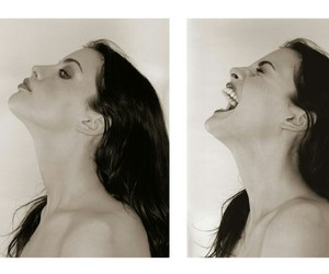 liv tyler, scream, and black and white image