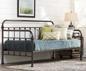 daybed, farmhouse, and home decor image