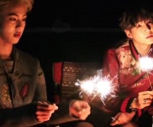 jin, bts, and min yoongi image