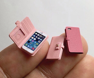 cellphone, miniature, and cute image