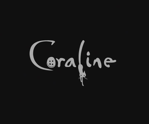 coraline, movie, and buttons image