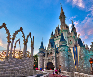 disney, castle, and photography image