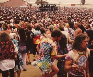 60s, concert, and hippie image